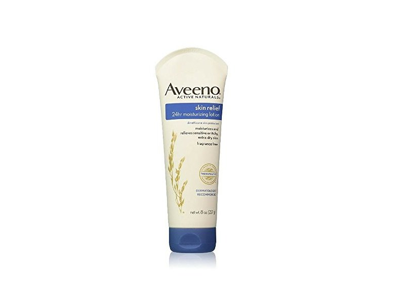 Aveeno Active Naturals Skin Relief 24 Hr Moisturizing Lotion , 8 Ounce (Pack of 3)
