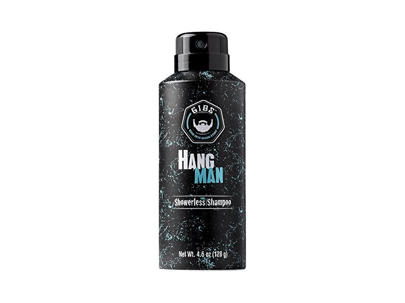 GIBS Grooming for Men Hang Man Showerless Shampoo, 4.5 Ounce