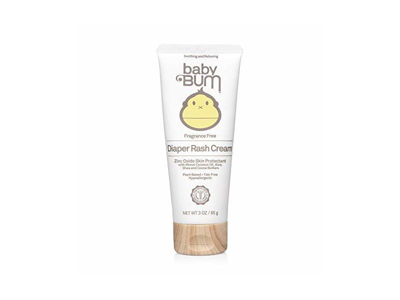 Baby Bum Fragrance Free Diaper Rash Cream, 3 oz/85 g