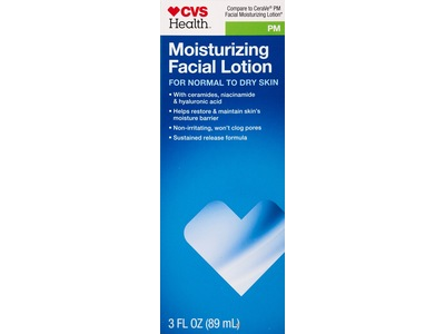 CVS PM Moisturizing Facial Lotion For Normal to Dry Skin