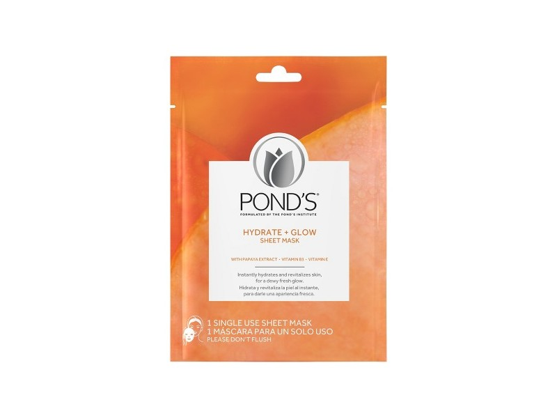 Pond's Hydrate + Glow Sheet Mask, 1 count