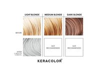 Keracolor Clenditioner Color Depositing Conditioner Colorwash, Silver, 12 fl. oz. - Image 6