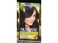 Garnier Nutrisse Nourishing Color Creme, 20 Soft Black (Black Tea) - Image 9