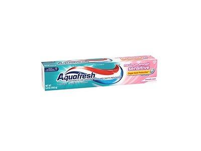 Aquafresh Maximum Strength Sensitive Toothpaste, Smooth Mint, 5.6 oz / 158.8 g