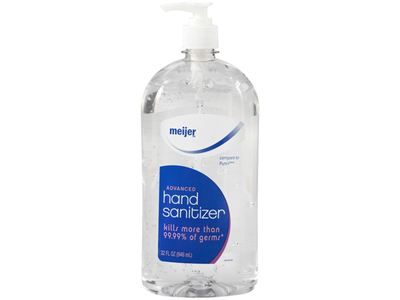 Meijer Advanced Hand Sanitizer, 32 fl oz