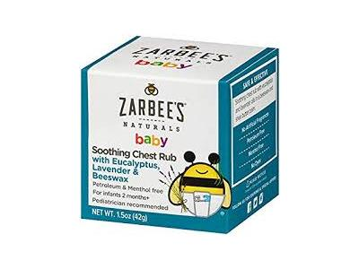 Similar Products To Zarbee S Naturals Baby Soothing Chest