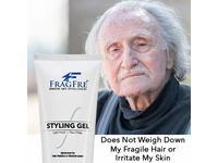 FRAGFRE Light Hold Hair Gel Fragrance-Free, 8 oz - Image 8