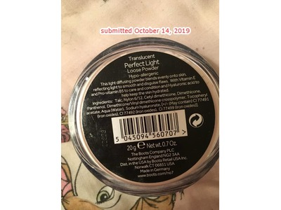 Boots No7 Perfect Light Loose Powder, Translucent Perfect Light, 0.70 oz - Image 3
