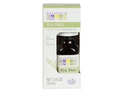 Aura Cacia Essential Tea Tree Boxed Oil, 0.5 oz