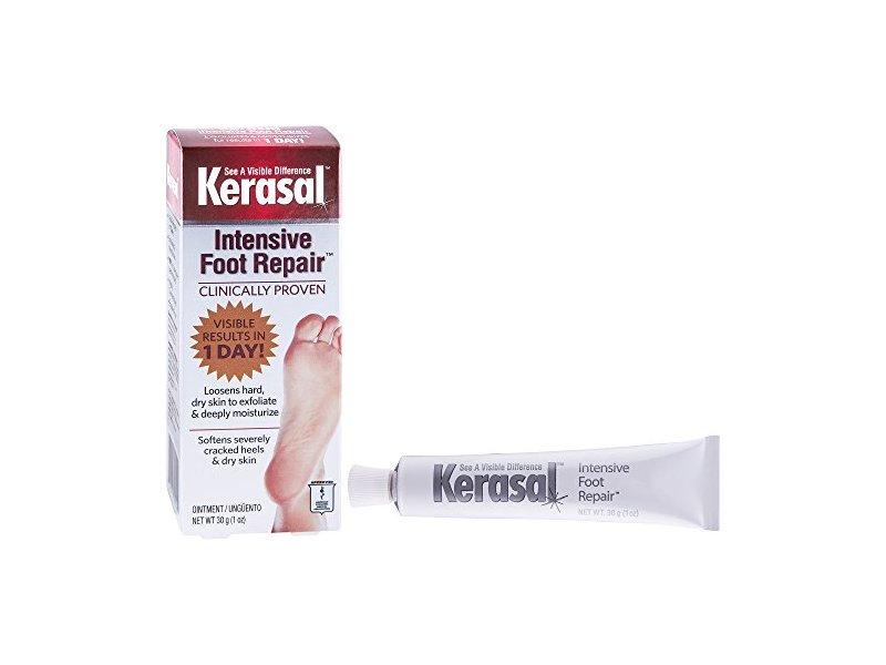 Kerasal Intensive Foot Repair, Exfoliating Foot Moisturizer 1 oz