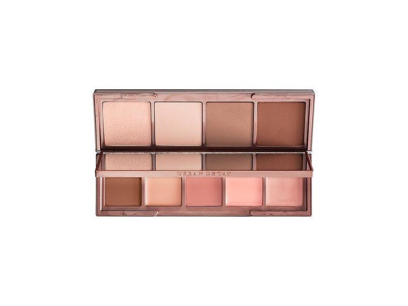Urban Decay Naked Skin Shapeshifter Contour, Color Correct, Highlight Palette, Light Medium Shift