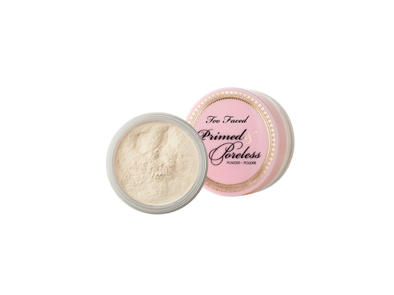 Too Faced Primed & Poreless Priming Powder And Finishing Veil, Too Faced Cosmetics