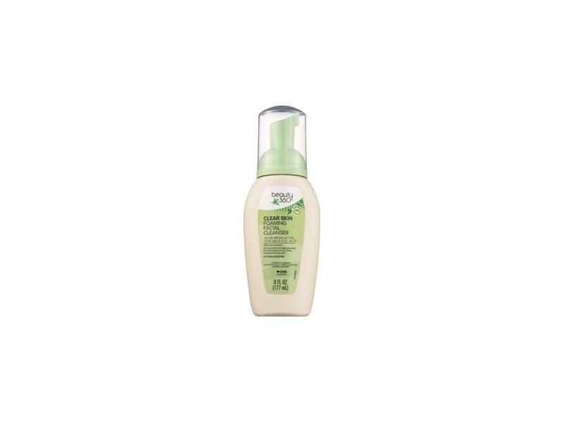 Beauty 360 Clear Skin Foaming Facial Cleanser