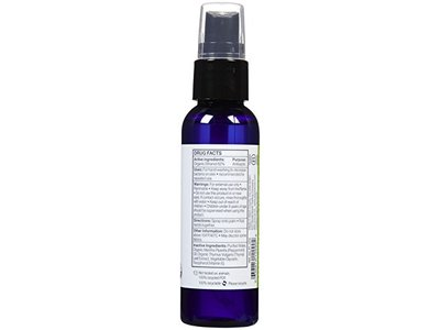 EO Products Hand Sanitizer Spray - Organic Peppermint - 2 Oz - Image 3