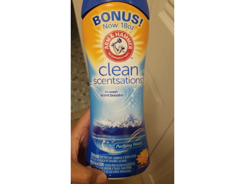 Arm & Hammer Clean Scentsations In-wash Scent Booster