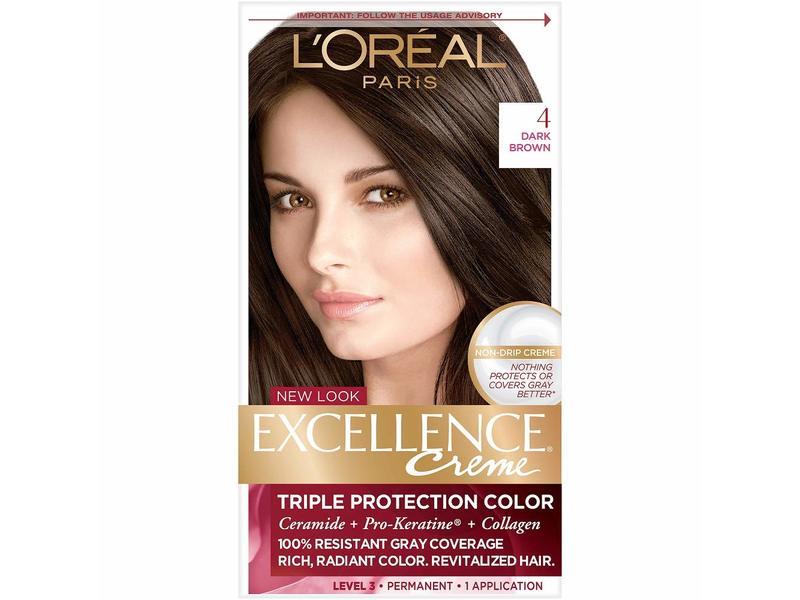 L'oreal Paris Excellence Creme Triple Protection Colour, Dark Brown