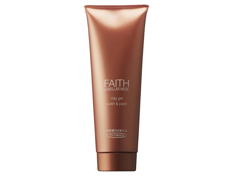 Faith Lamellar Mode Clay Gel Wash & Pack, 9.9 oz