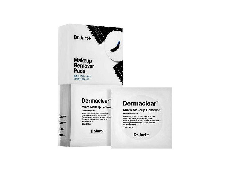 Dr. Jart+ Dermaclear Micro Makeup Remover Pads, 20 count