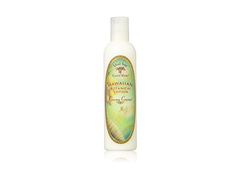 Island Soap & Candle Works Lotion, Creamy Coconut, 8.5 Ounce