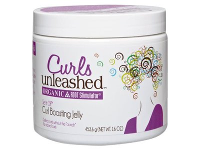Organic Root Stimulator Curls Unleashed Curl Boosting Jelly, 16 Ounce