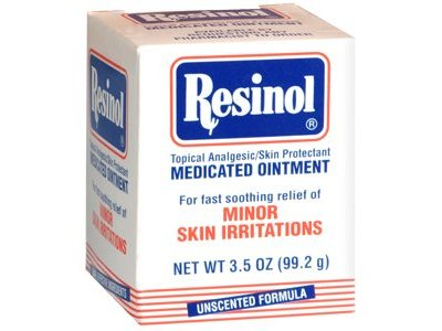 Resinol Medicated Ointment Jar, 3.3 oz