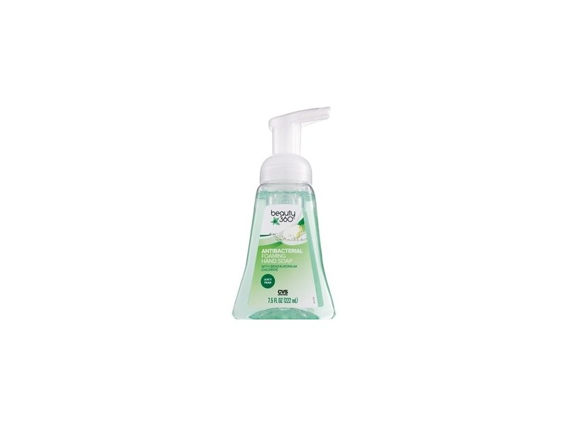 Beauty 360 Pear And White Tea Anti-Bacterial Foaming Hand Soap