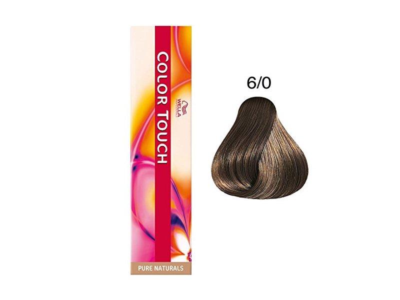 Wella Color Touch, 6/0 Dark Blonde/Natural, 2 oz