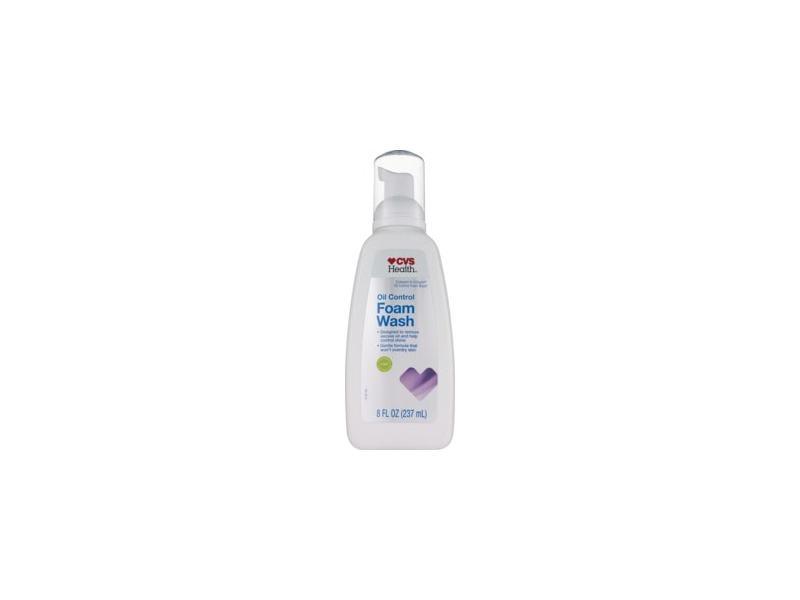 CVS Health Oil Control Foam Face Wash