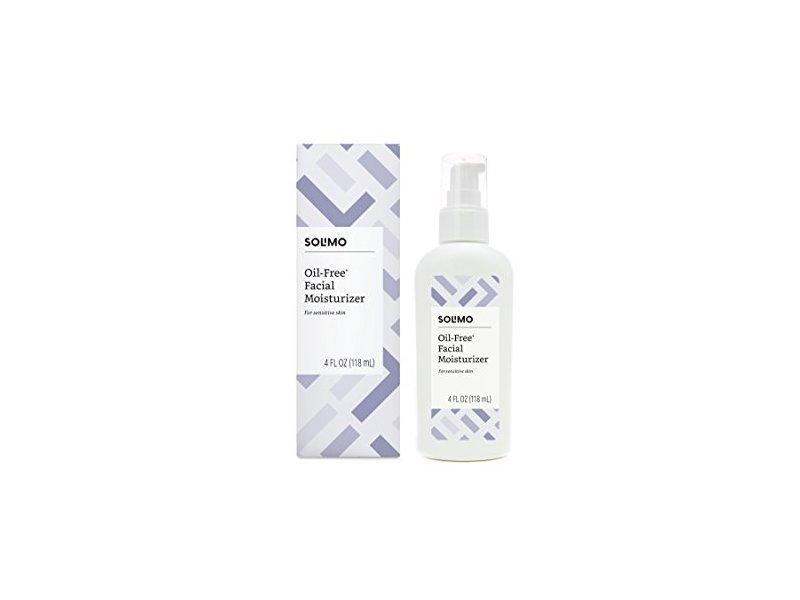 Solimo Oil-free Facial Moisturizer for Sensitive Skin, 4 fl oz