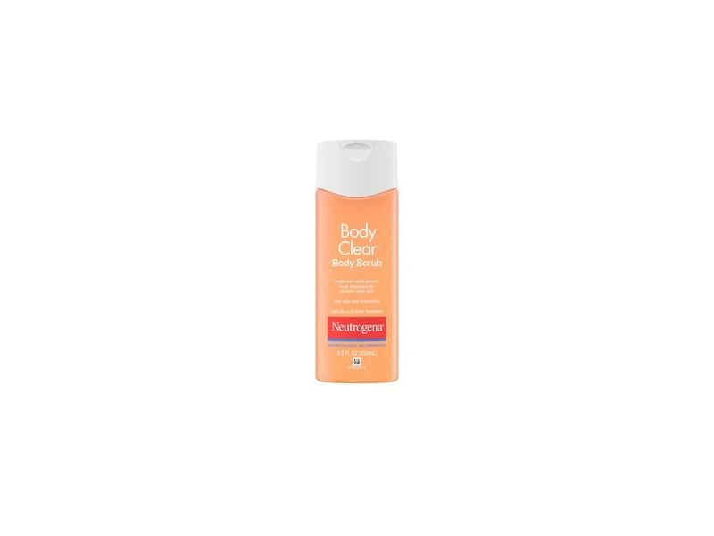 Neutrogena Body Clear Acne Body Scrub with Salicylic Acid