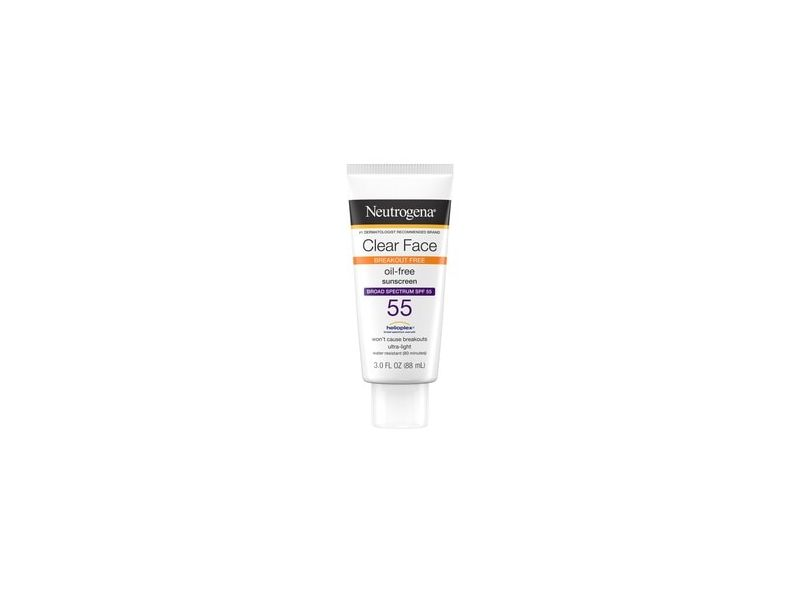 Neutrogena Clear Face Liquid Lotion Sunscreen with SPF 55