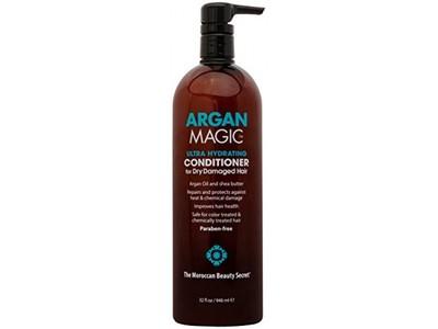 Argan Magic Ultra Hydrating Conditioner for Dry Damaged Hair, 32 fl oz