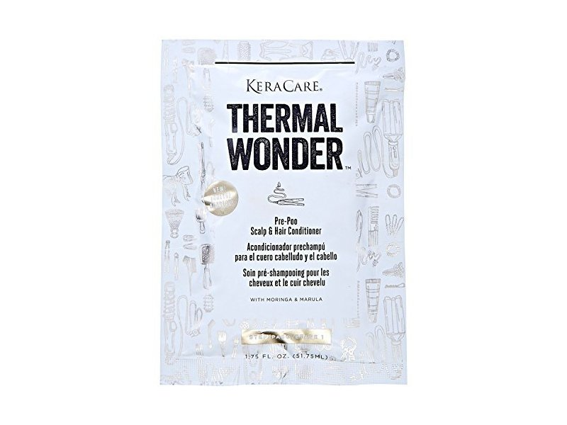 KeraCare Thermal Wonder Pre Poo Conditioner, 1.75 fl oz/51.75 mL