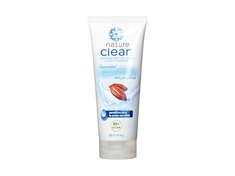 Nature Clean Moisturizing Lotion, Unscented, 9.4 fl oz