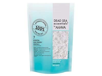 Ahava Dead Sea Essentials Bath Salts, Unscented, 32 Fluid Ounce