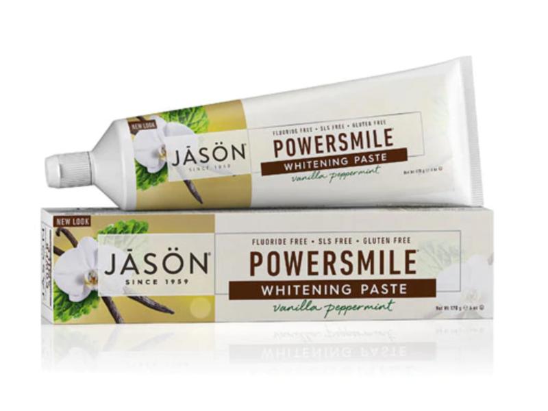 Jason Powersmile Whitening Paste, Vanilla Peppermint, 6 oz