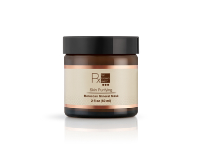 Rx for Brown Skin Purifying Moroccan Mineral Mask, 2 oz
