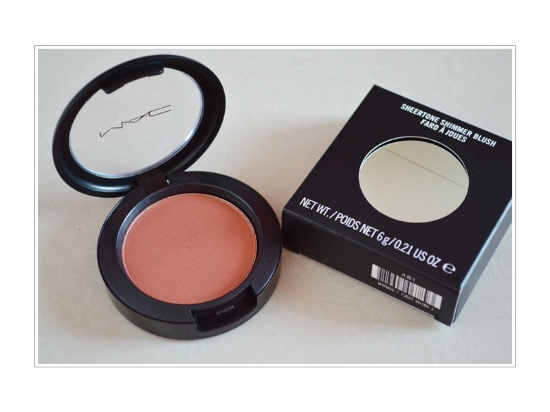 M.A.C. Sheertone Shimmer Blush, 0.21 oz