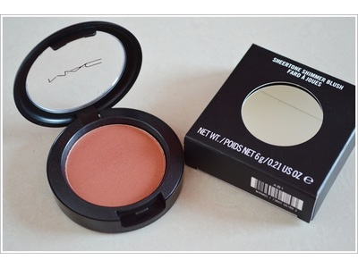 M.A.C. Sheertone Shimmer Blush, 0.21 oz - Image 1