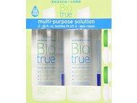 Bausch & Lomb Biotrue Multi-Purpose Solution - 2/16 oz Bottles Plus 2 lens cases - Image 2