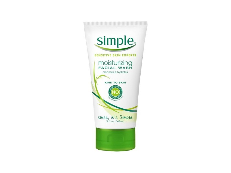 Simple Skincare Moisturizing Facial Wash, Unilever