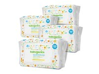 Babyganics Face, Hand & Baby Wipes, Fragrance Free, 400 Count - Image 4