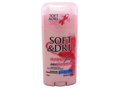 Soft & Dri Aluminum Free Deodorant Powder Fresh, 2.3oz