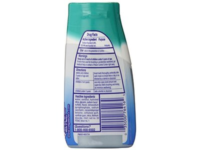 Colgate 2-in-1 Toothpaste & Mouthwash, Whitening Icy Blast, 4.6 oz - Image 5