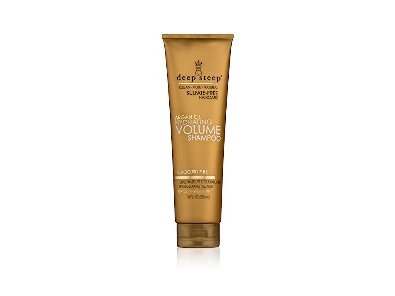 Deep Steep Argan Hydrating Volume Shampoo, 10 Ounce