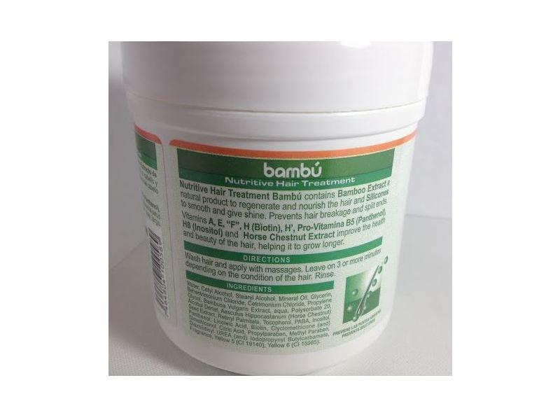 Silicon MIx Bambú Nutritive Shampoo & Nutritive Hair Treatment