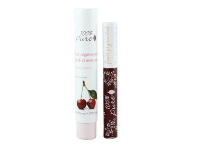 100% PURE Fruit Pigmented Lip & Cheek Stain (Cherry)