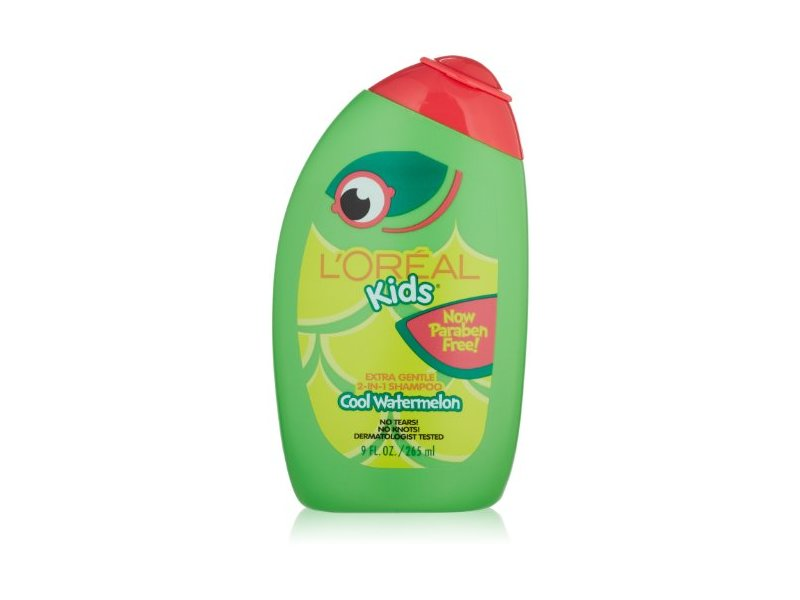 L'Oreal Kids Extra Gentle 2-in-1 Shampoo, Watermelon, 9 oz