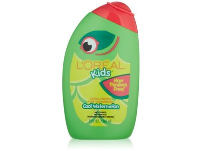 L'Oreal Kids Extra Gentle 2-in-1 Shampoo, Watermelon, 9 oz - Image 1