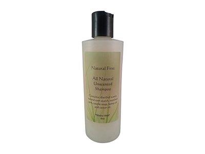 Natural First All Natural Unscented Shampoo, 8 fl oz